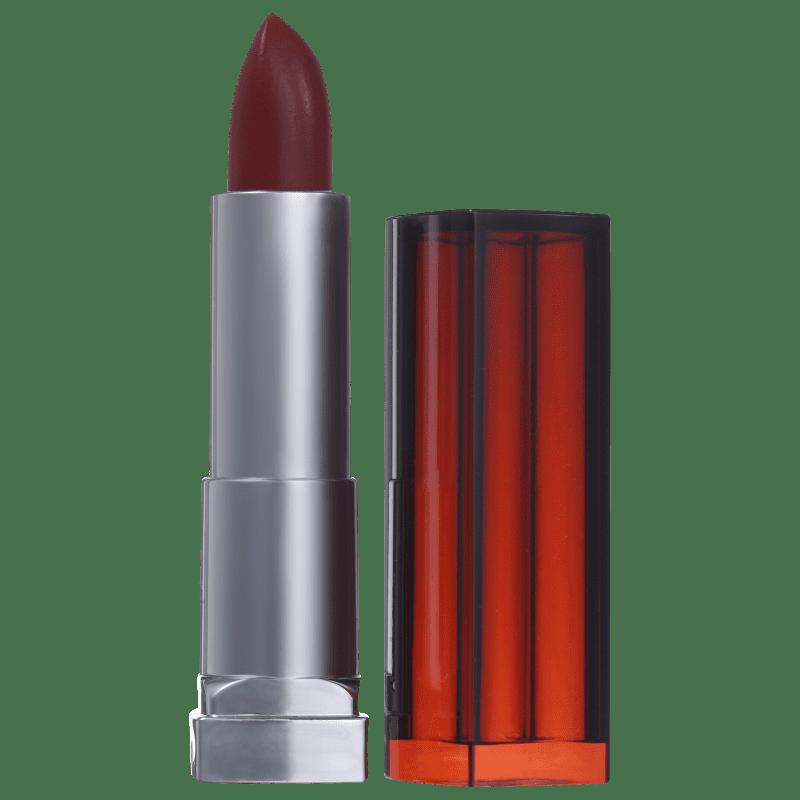 Maybelline Color Sensational Vermelhos Poderosos 313 Santa Dose - Batom Matte 4,2g