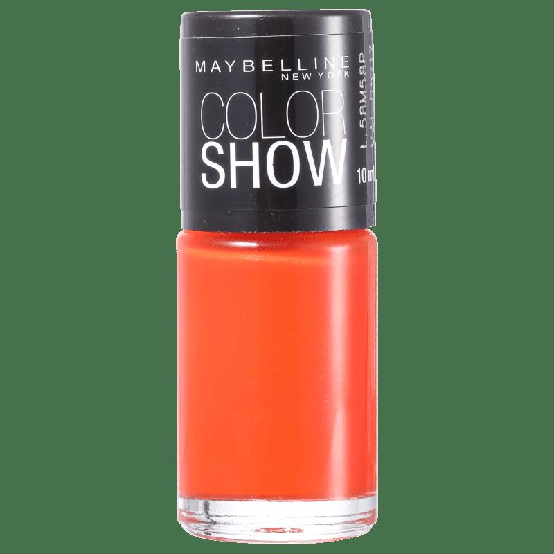 Maybelline Color Show 240 Vibrant Orange - Esmalte Cremoso 10ml