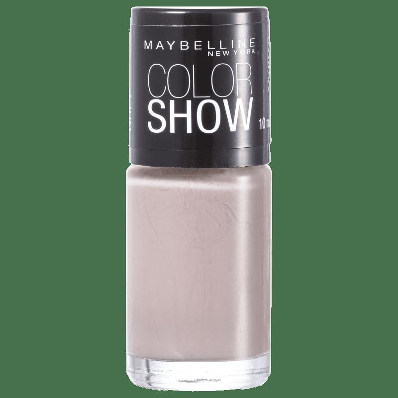Maybelline Color Show 540 Runway Grey - Esmalte Cremoso 10ml