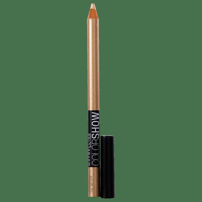 Maybelline Expertwear Eyeshadow Color Show Liner 30 Dourado - Lápis de Olho 1,4g