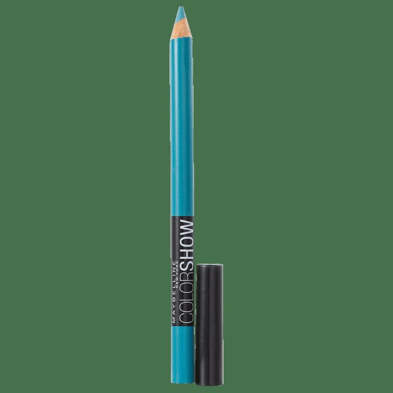 Maybelline Expertwear Eyeshadow Color Show Liner 45 Turquesa - Lápis de Olho 1,4g