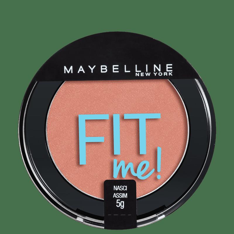 Maybelline Fit Me! 03 Nasci Assim - Blush Cintilante 5g