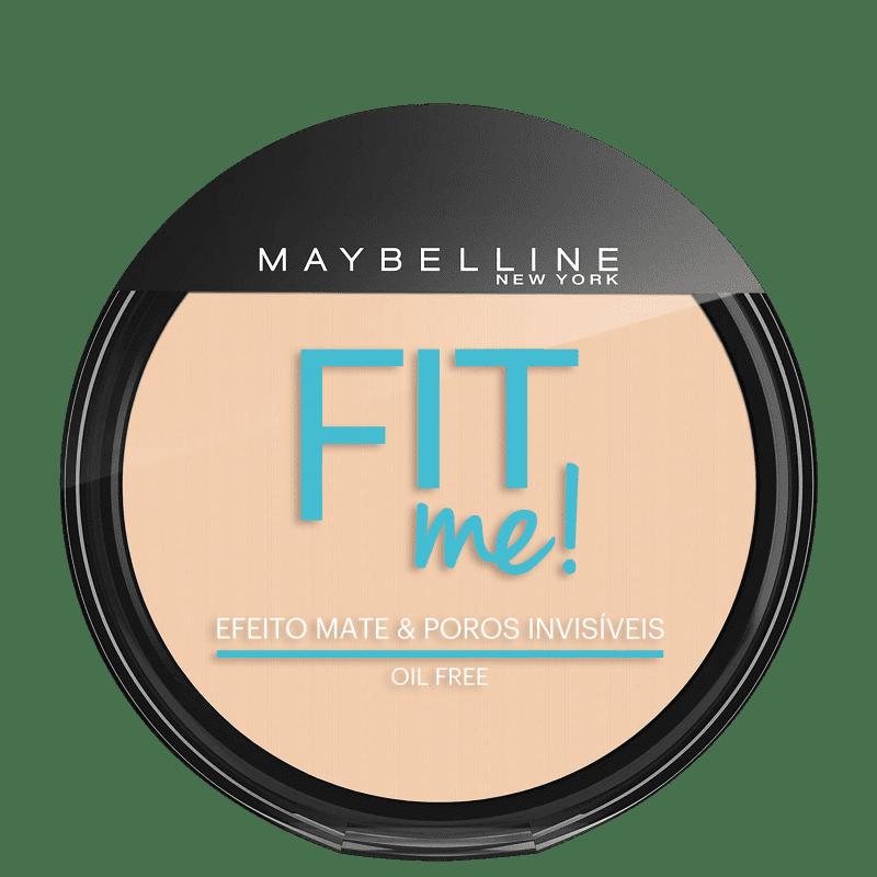 Maybelline Fit Me! 100 Claro Sutil - Pó Compacto