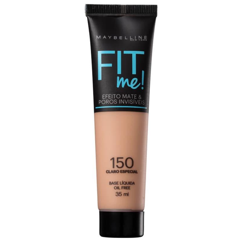 Maybelline Fit Me! Toque Matte + Fresh 150 - Base Líquida 35ml