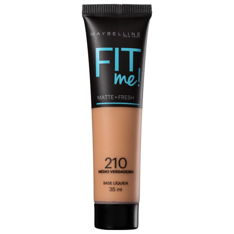 Maybelline Fit Me! Toque Matte + Fresh 210 - Base Líquida 35ml