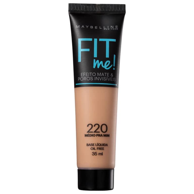 Maybelline Fit Me! Toque Matte + Fresh 220 - Base Líquida 35ml