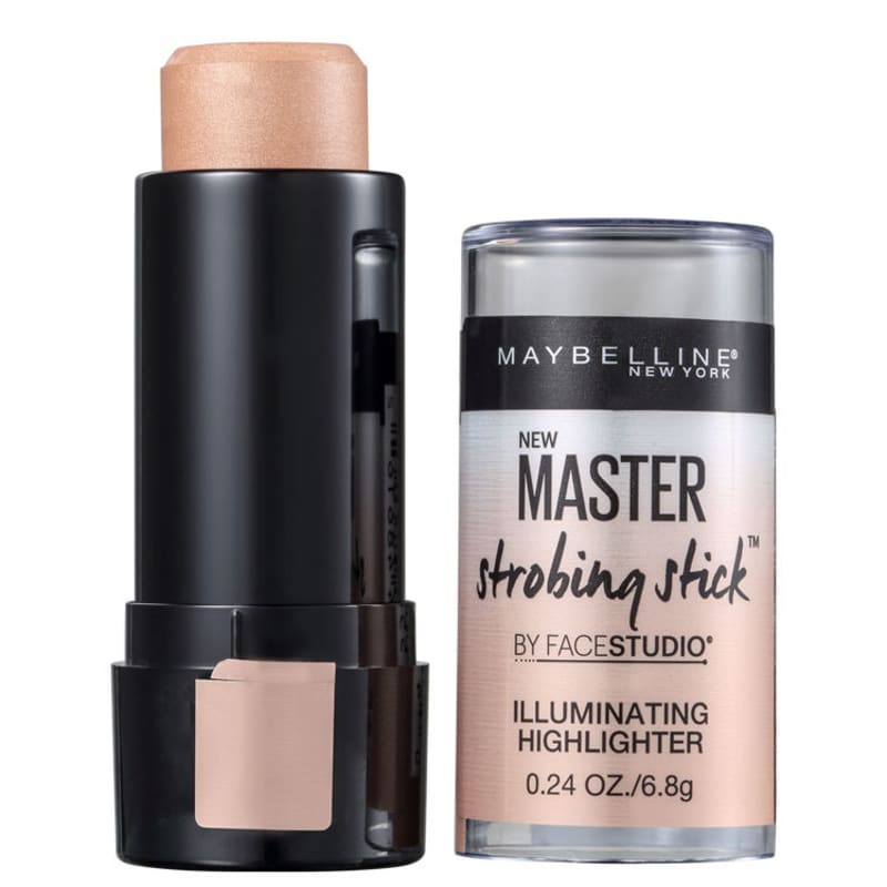 Maybelline Master Strobing Stick Medium Nude Glow 200 - Iluminador Cintilante 6,8g