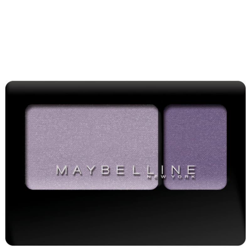 Maybelline New Expertwear Eyeshadow Duo Lasting Lilac - Paleta de Sombras 2,4g
