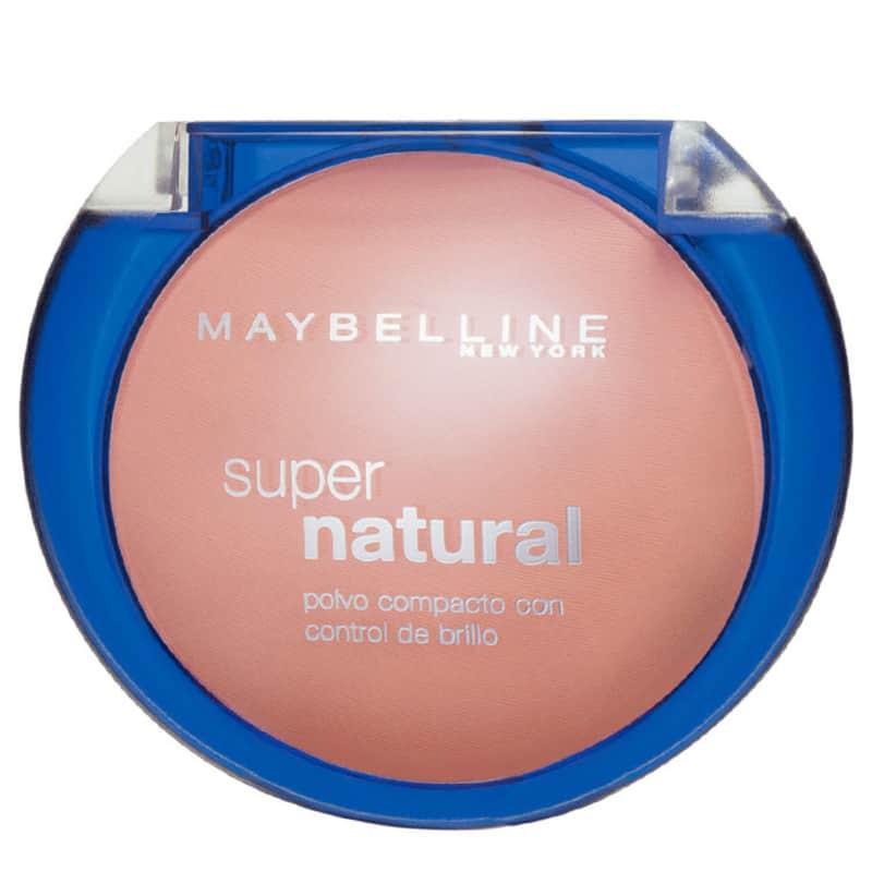 Maybelline Super Natural 02 Bege Conhaque - Pó Compacto 12g