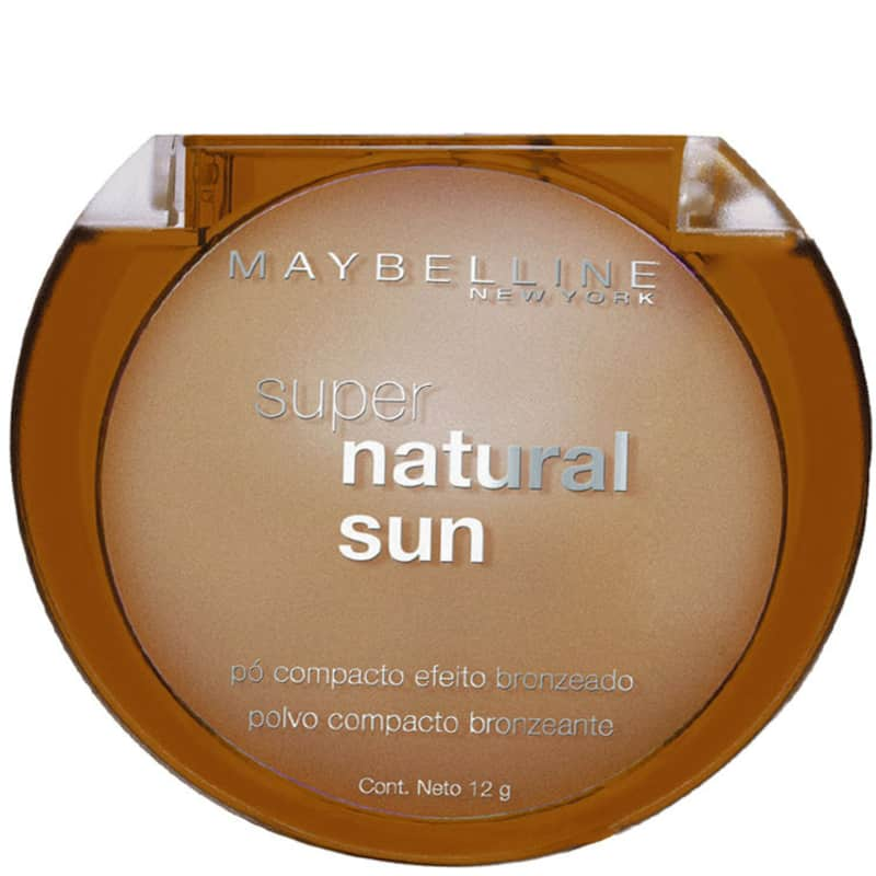 Maybelline Super Natural Sun 22 True Sun - Pó Bronzant 12g