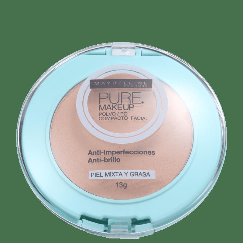Maybelline Pure Makeup Dourado - Pó Compacto Natural 13g