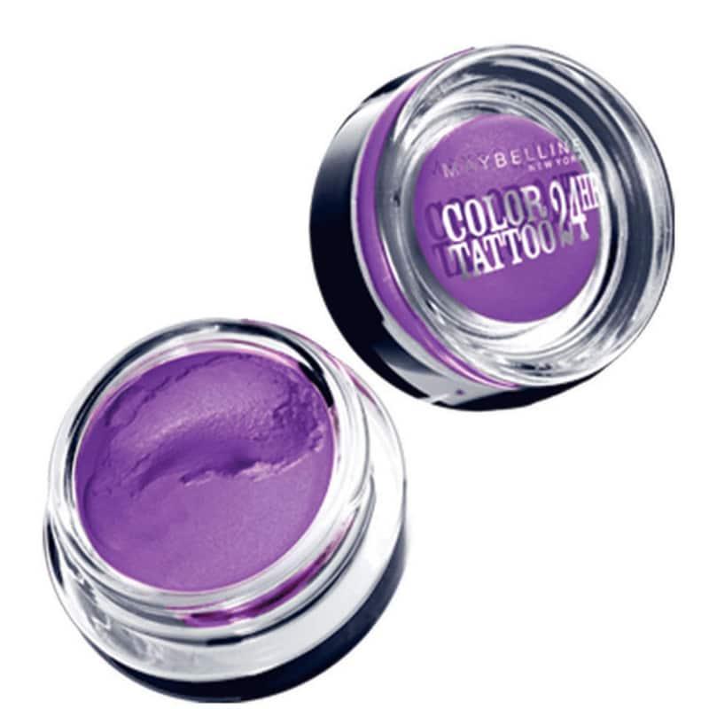 Maybelline Color Tattoo 24H Painted Purple - Sombra em Gel 4g