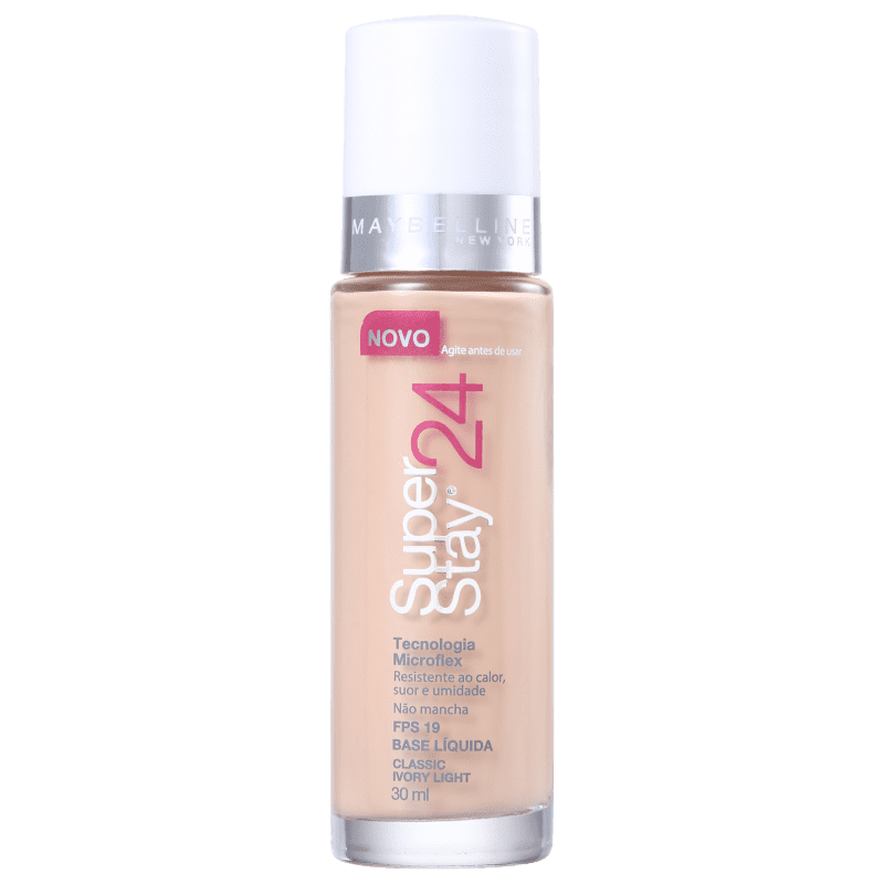 Maybelline Superstay 24h FPS 19 Classic Ivory Light - Base Líquida 30ml