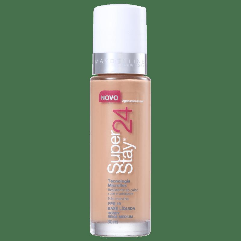 Maybelline Superstay 24h FPS 19 Honey Beige - Base Líquida 30ml