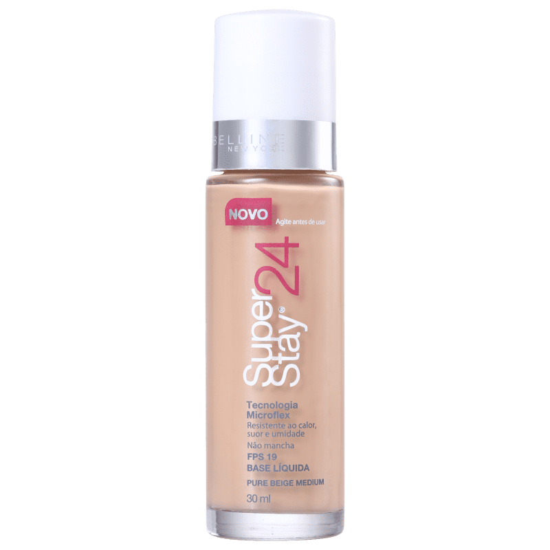 Maybelline Superstay 24h FPS 19 Pure Beige Medium - Base Líquida 30ml