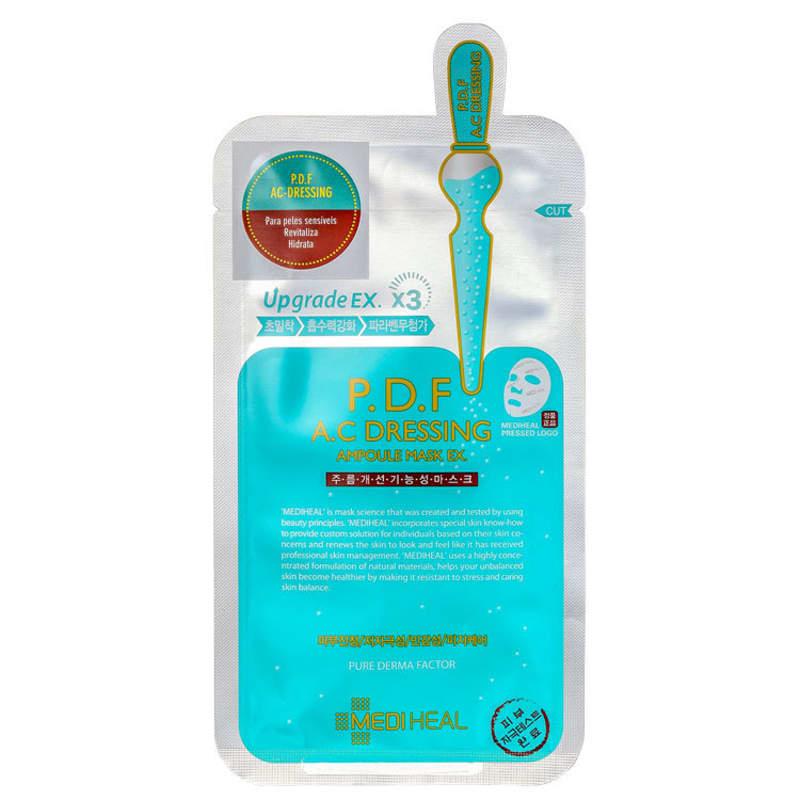 Mediheal P.D.F A.C Dressing Ampoule EX. - Máscara Facial 25ml