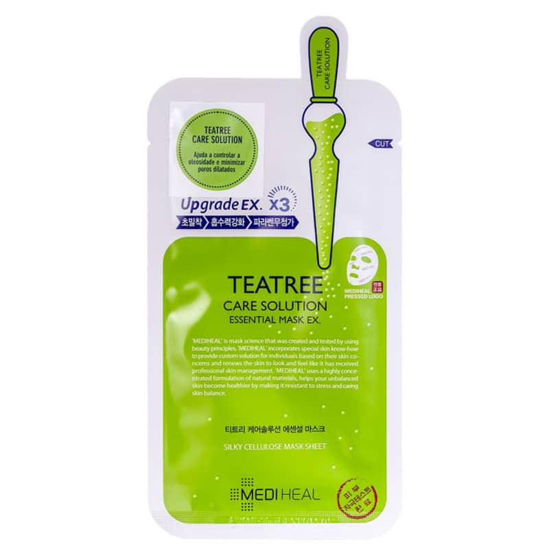 Mediheal Tea Tree Care Solution Essential EX. - Máscara Facial 24ml
