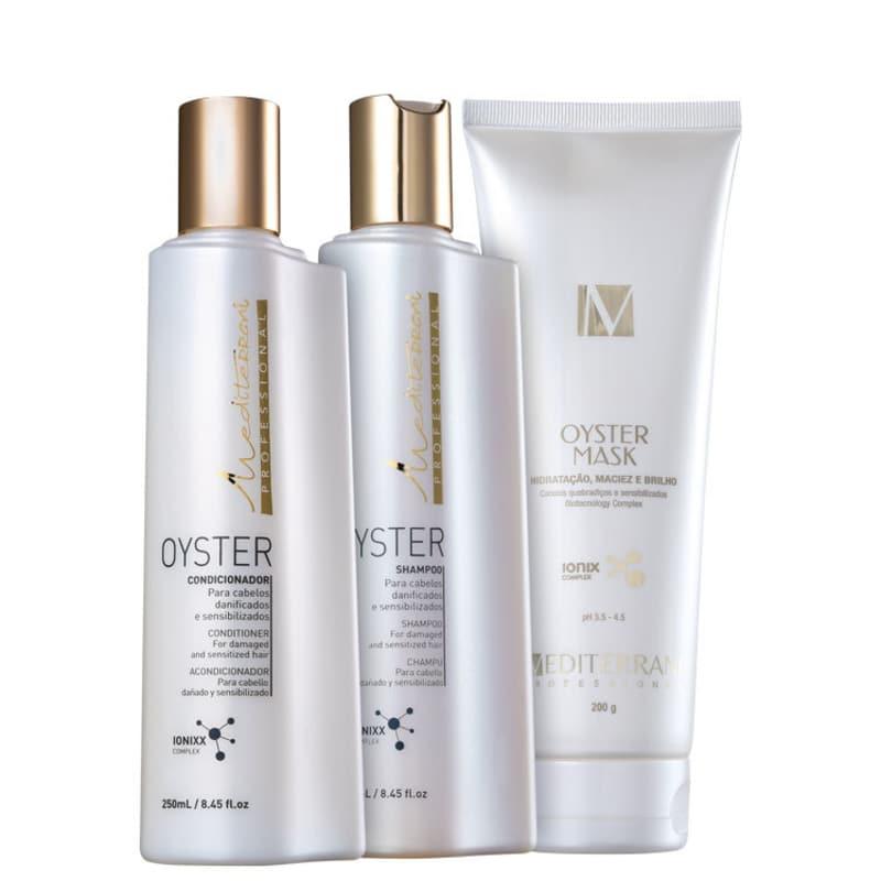 Mediterrani Oyster Repair Treatment Trio Kit (3 Produtos)