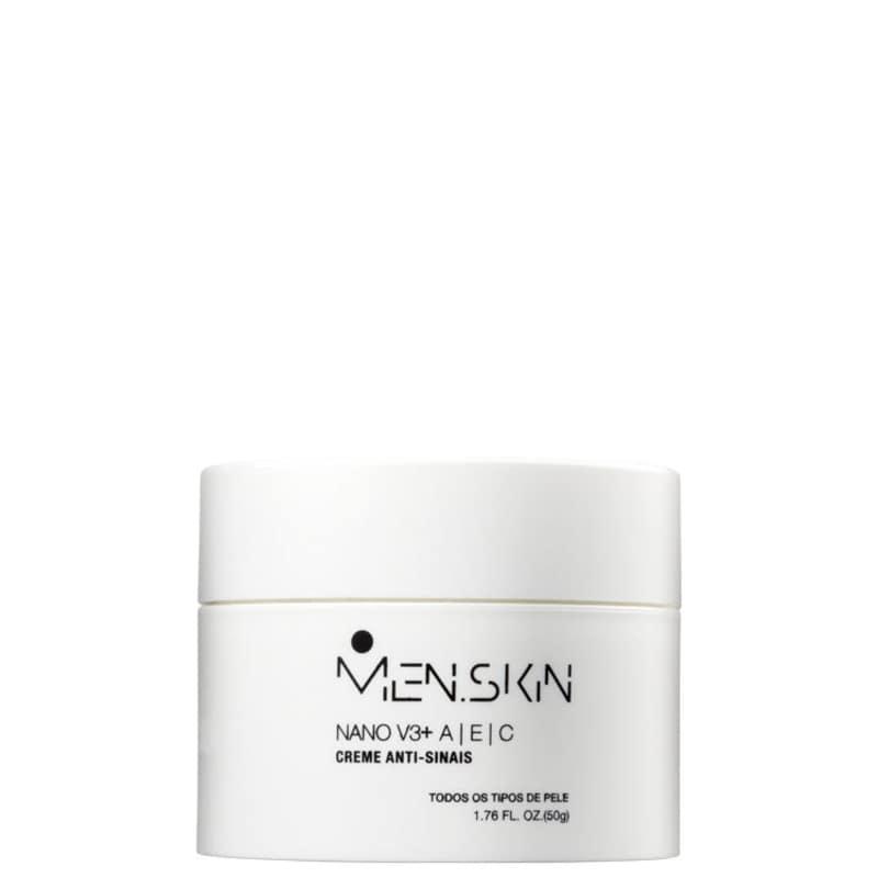Men.Skin Nano V3+ - Creme Anti-Idade 50ml