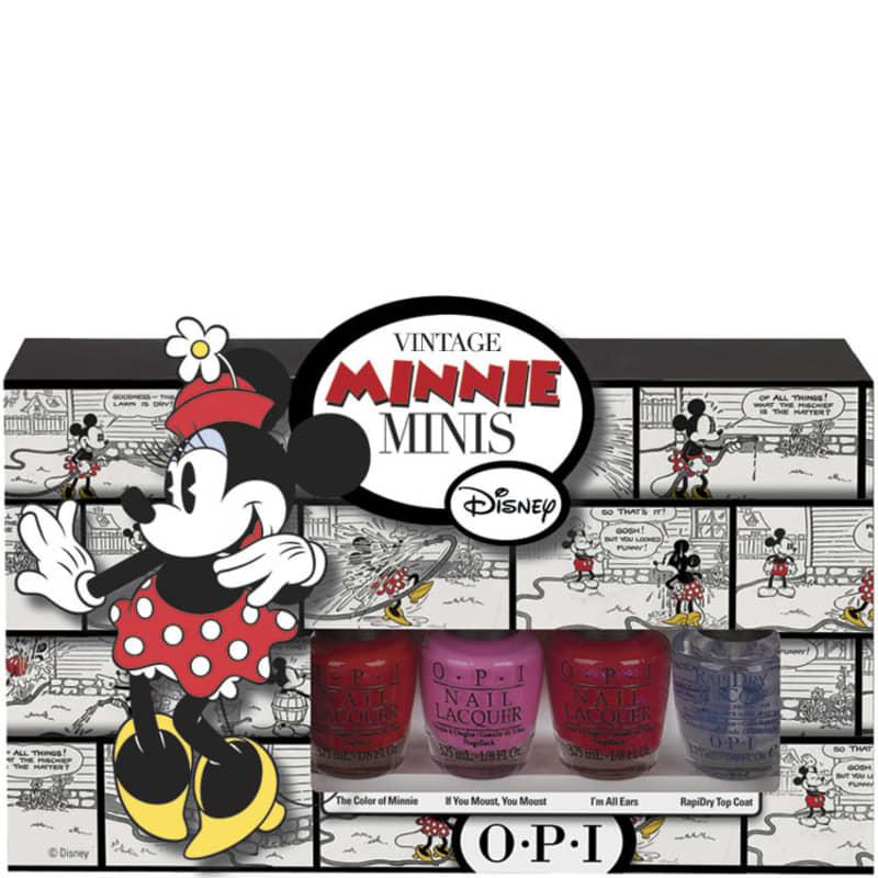 OPI Minnie Minis Kit (4 Produtos)