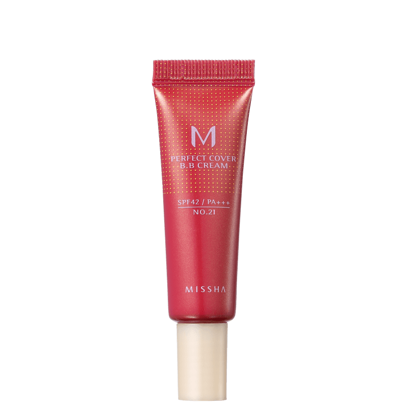 Missha M Perfect Cover Nº 21 Light Beige - BB Cream 10ml