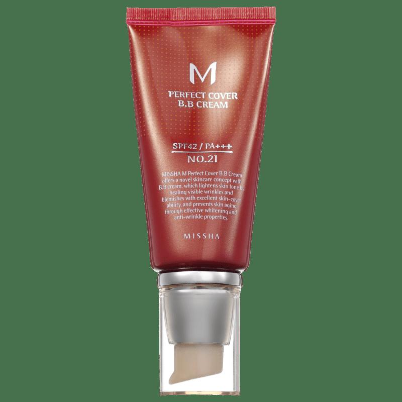 Missha M Perfect Cover Nº 21 Light Beige - BB Cream 50ml