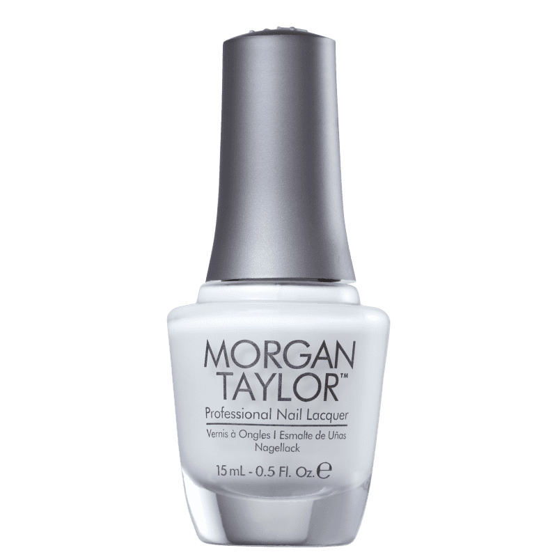 Morgan Taylor All White Now 01 - Esmalte Cremoso 15ml