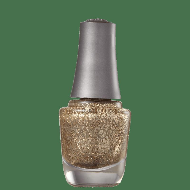 Morgan Taylor Mini Glitter &amp, Gold 62 - Esmalte Glitter 5ml