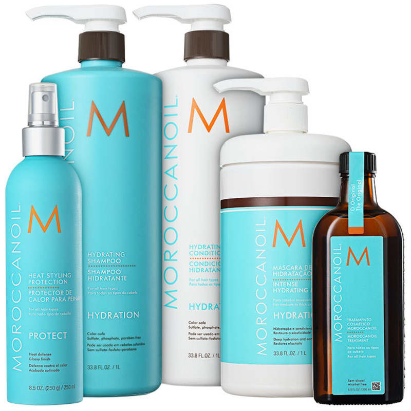Kit Moroccanoil Hydrating Protection (5 Produtos)