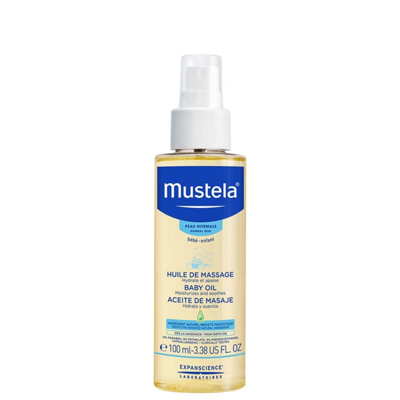 Mustela Bébé Huile de Massage - Óleo de Massagem 100ml