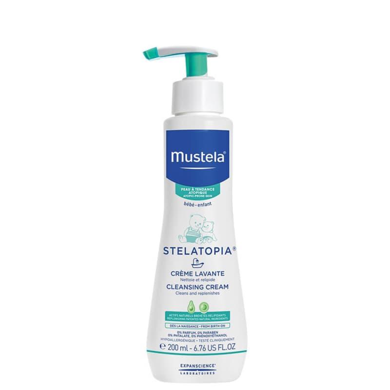 Mustela Dermo-Pédiatrie Stelatopia - Creme de Limpeza 200ml