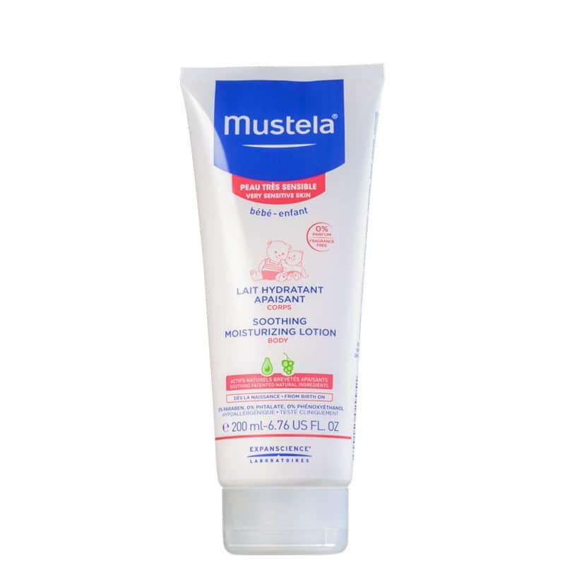 Mustela Bébé Soothing - Loção Hidratante Corporal 200ml