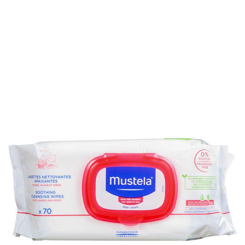 Mustela Bébé Soothing - Lenços de Limpeza (70 unidades)