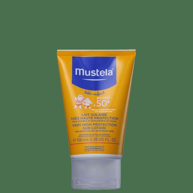 Mustela Solaires Bébé-Enfant FPS 50+ - Protetor Solar Infantil 100ml