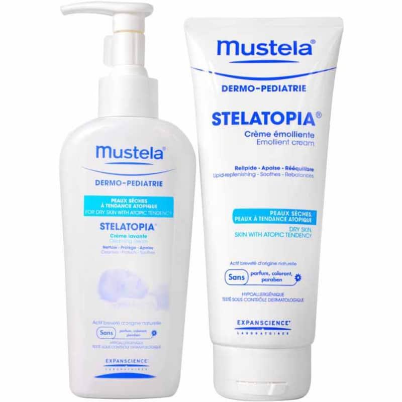 Kit Mustela Dermopédiatrie Stelatopia (2 produtos)