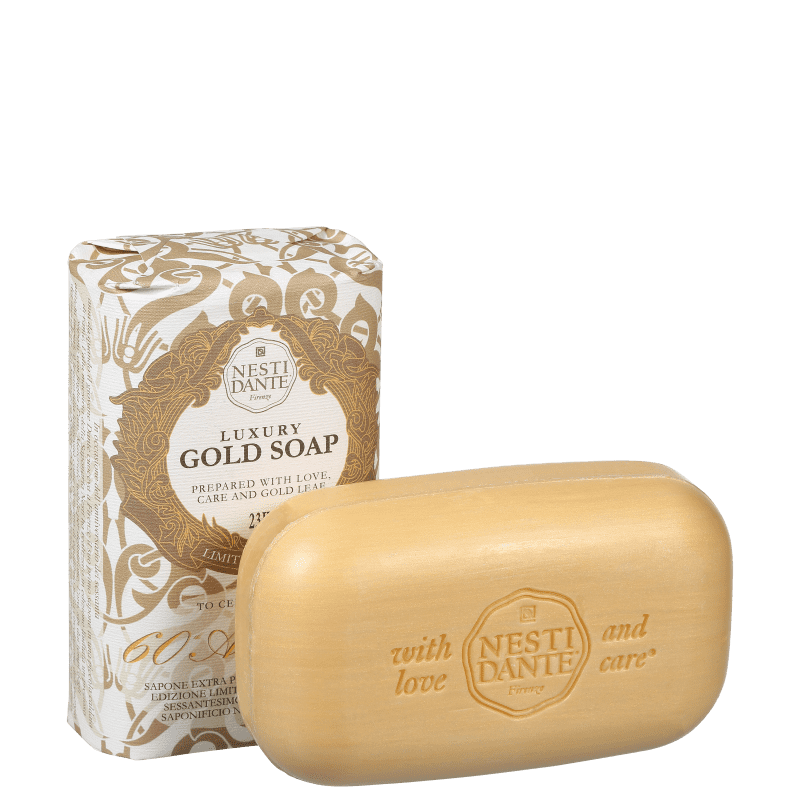 Nesti Dante Luxury Gold 60 Anniversary - Sabonete em Barra 250g