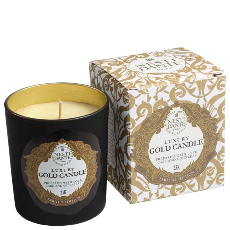 Nesti Dante Luxury Gold - Vela Perfumada 160g