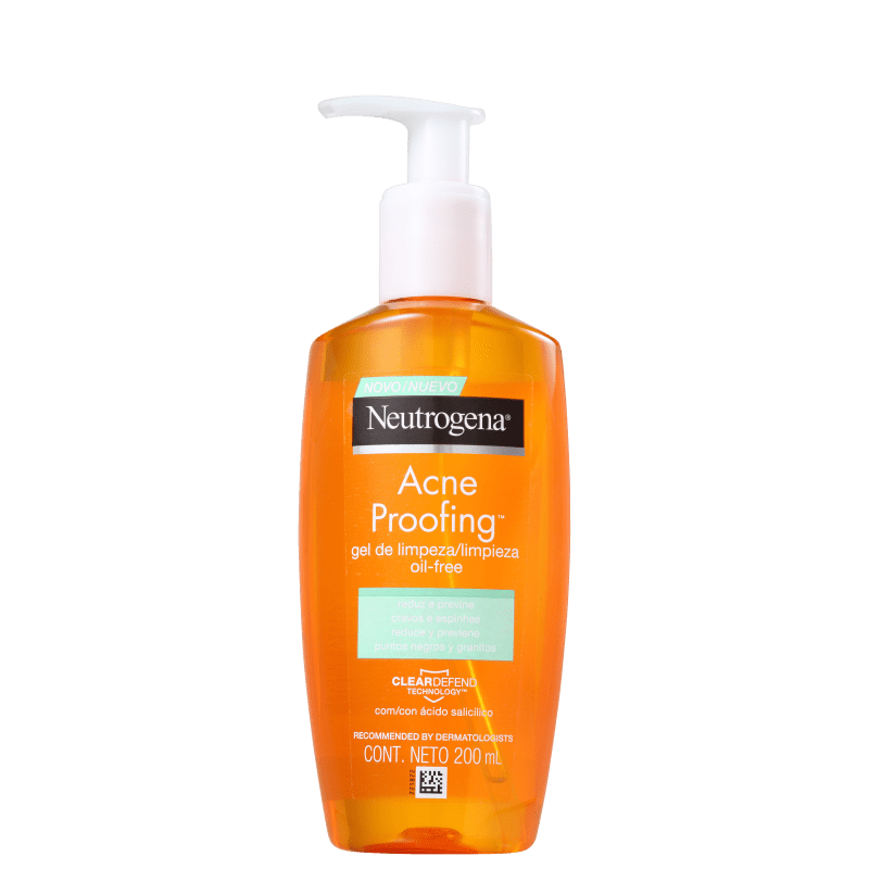 Neutrogena Acne Proofing - Gel de Limpeza para Acne 200ml