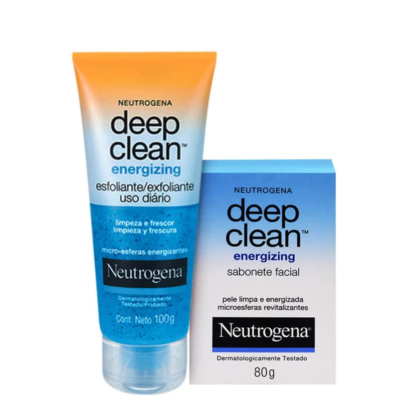 Kit Neutrogena Deep Clean Energizing Duo (2 produtos)