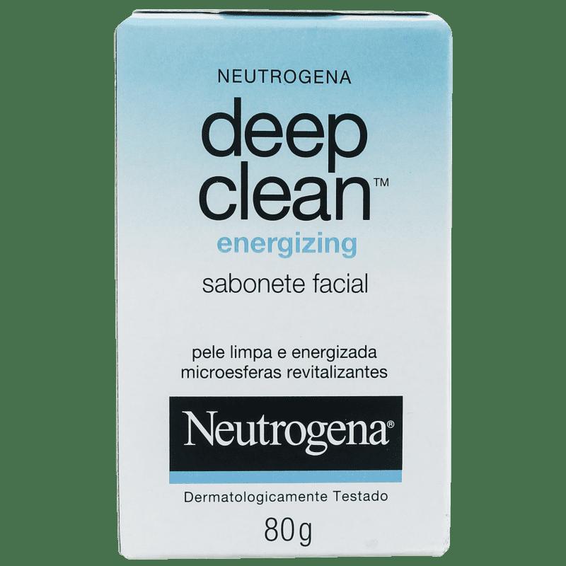 Neutrogena Deep Clean Energizing - Sabonete em Barra Facial 80g