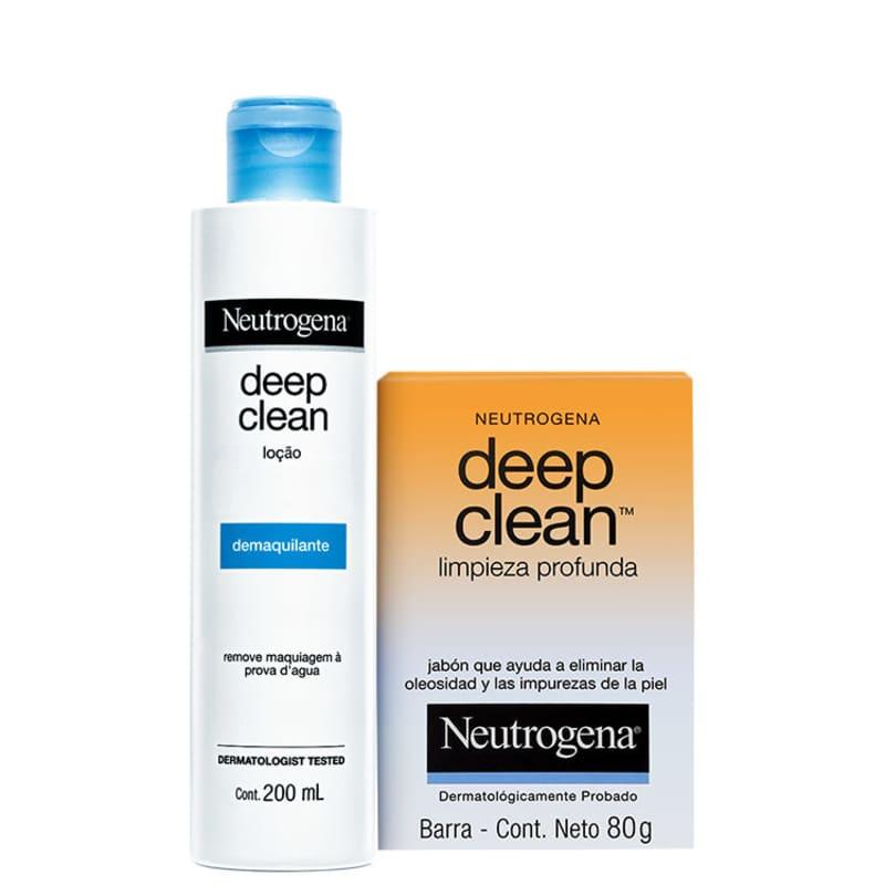 Kit Neutrogena Deep Clean (2 produtos)