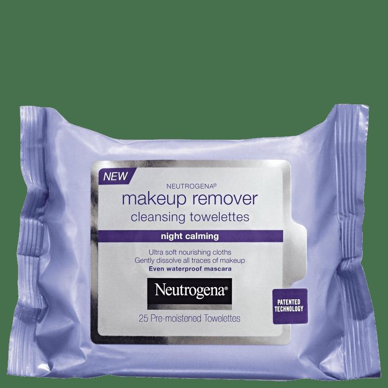 Neutrogena Night Calming - Lenço Demaquilante (25 unidades)