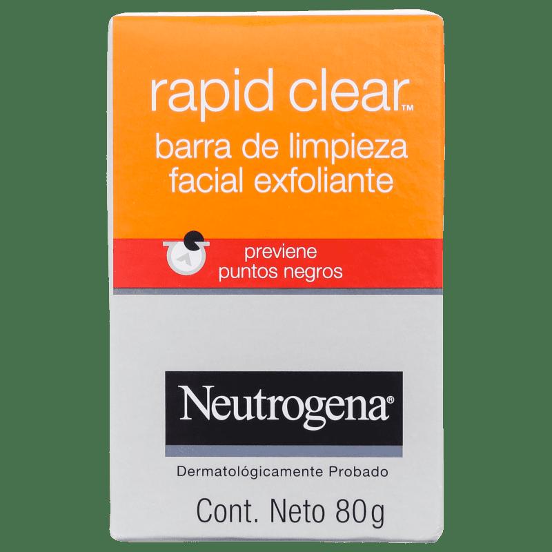 Neutrogena Rapid Clear - Sabonete em Barra para Cravos 80g