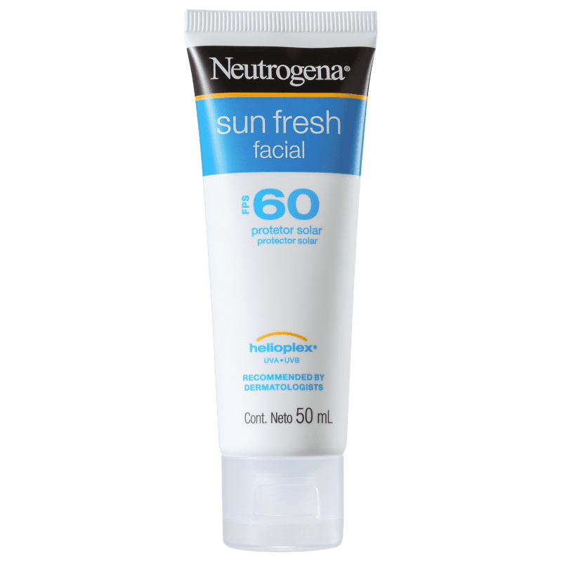 Neutrogena Sun Fresh FPS 60 - Protetor Solar Facial 50ml