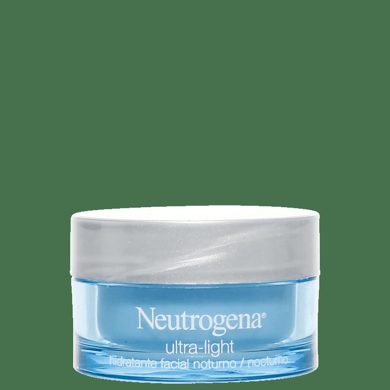 Neutrogena Ultra-Light - Creme Hidratante Noturno 50g