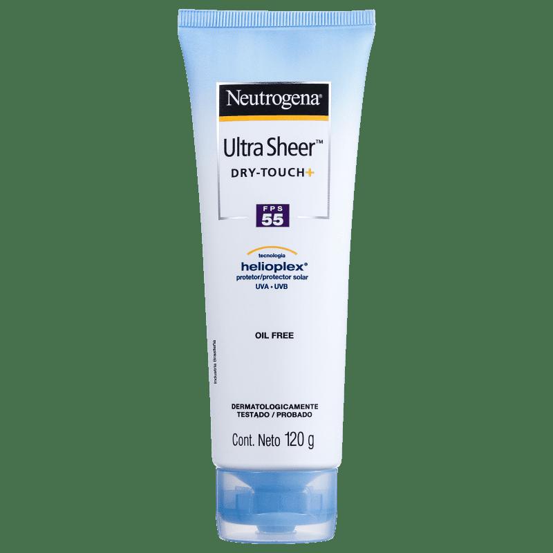 Neutrogena Ultra Sheer FPS 55 - Protetor Solar Facial 120g