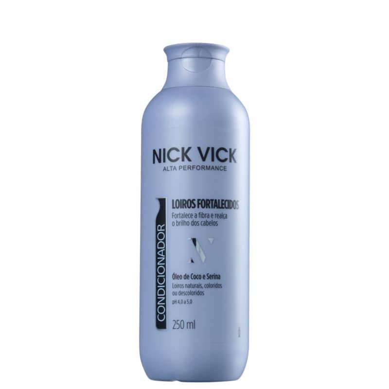 Nick & Vick Alta Performance Loiros Fortalecidos - Condicionador 250ml