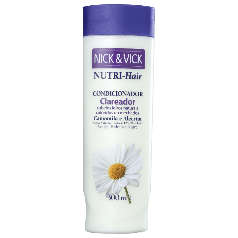 Nick & Vick NUTRI-Hair Clareador - Condicionador 300ml