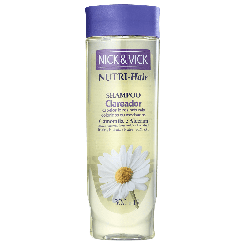 Nick & Vick NUTRI-Hair - Shampoo Clareador 300ml