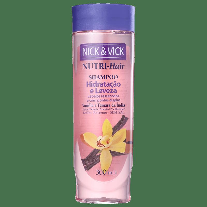 Nick & Vick NUTRI-Hair Hidratação e Leveza - Shampoo sem Sal 300ml